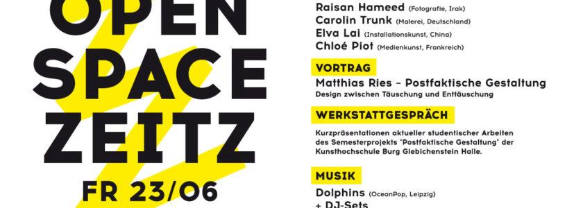 Offspace in Zeitz