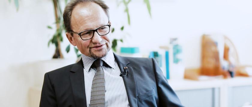 Heinz Junge, Geschäftsführer für Personal & Arbeitsdirektion der Mitteldeutschen Braunkohlengesellschaft mbH