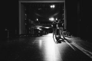 Dat Tran und Christoph Messing auf der großen Bühne