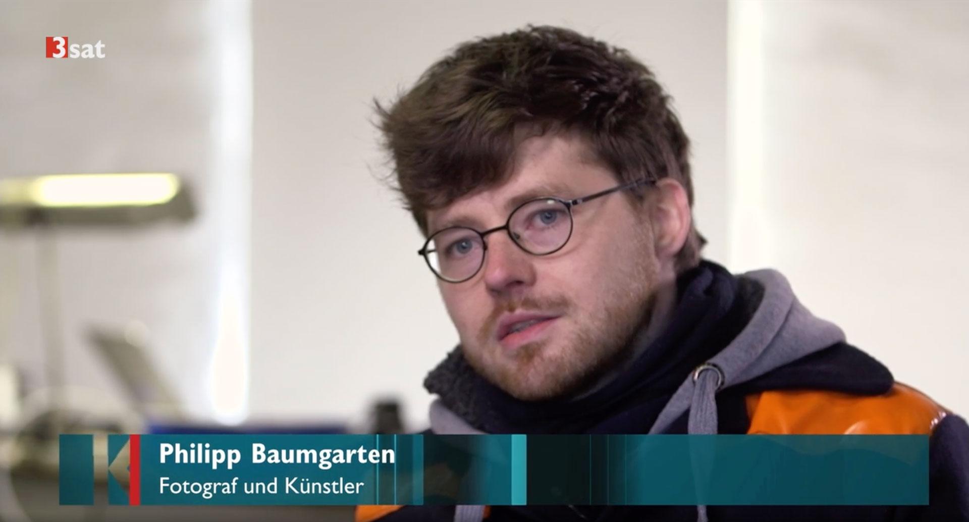 3sat interviewt Philipp Baumgarten